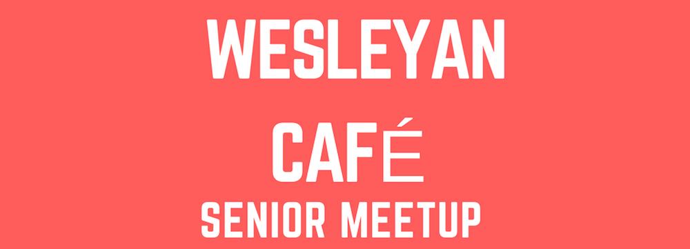 Wesleyan Cafe Senior Meetup at the Womans Club of Red Bank