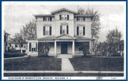 Historic photo of the Reckless estate