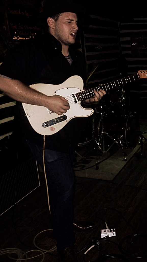 Adam Najemian performing in Red Bank NJ