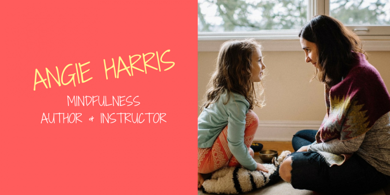 Angie Harris Mindfulness Author and Instructor in NJ