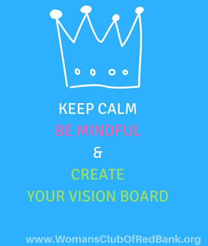 vision boards with a mindfulness approach