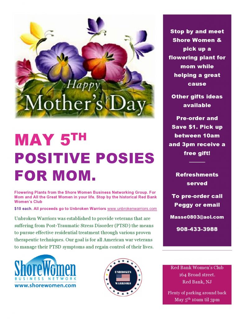 Positive Posies for Mom