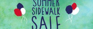 Red Bank Summer sidewalk sale