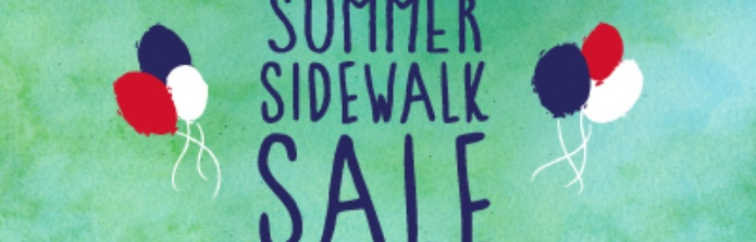 Red Bank Summer sidewalk sale