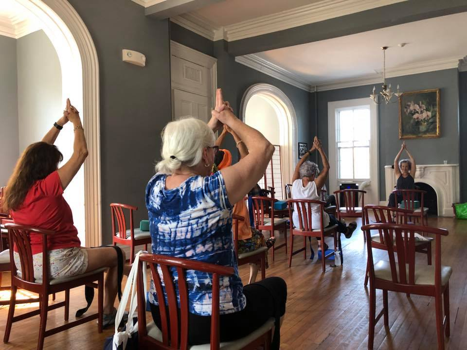 yoga at the Senior Space