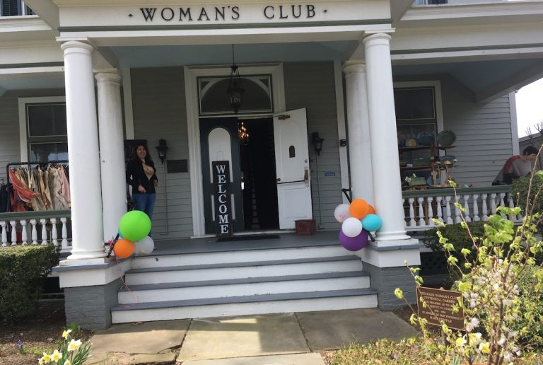 Shopping at the Woman's Club