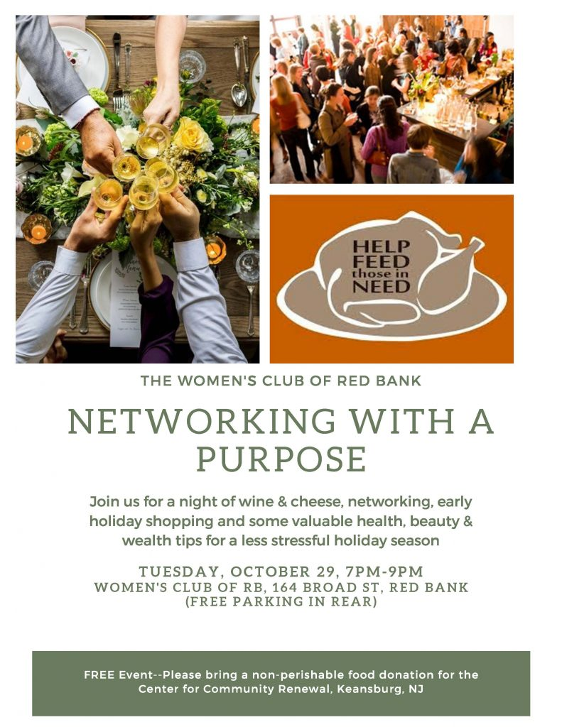 Networking with a purpose - October 29, 2019