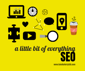 SEO - a little bit of everything