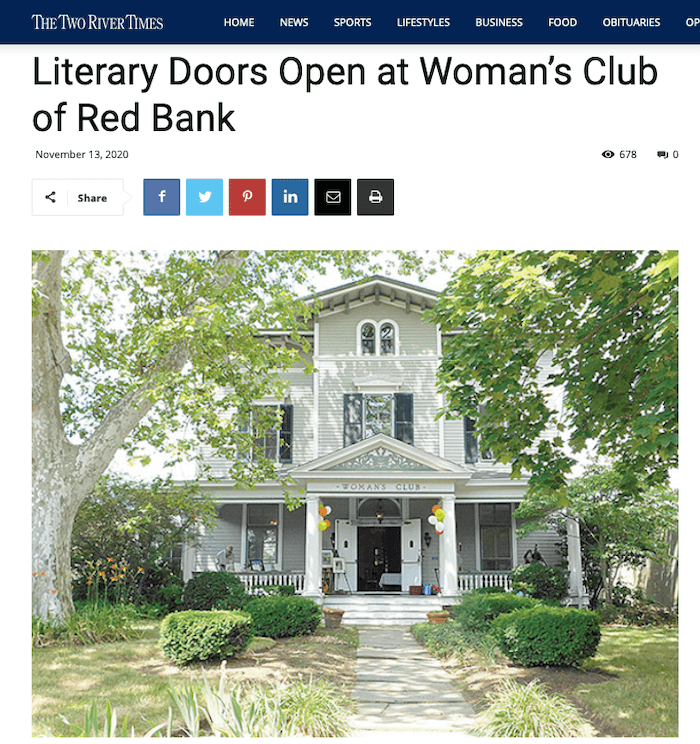 Woman's Club Back to Our Literary Roots