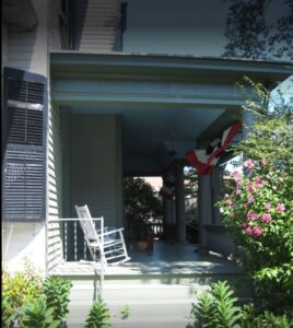 Woman's Club of Red Bank porch