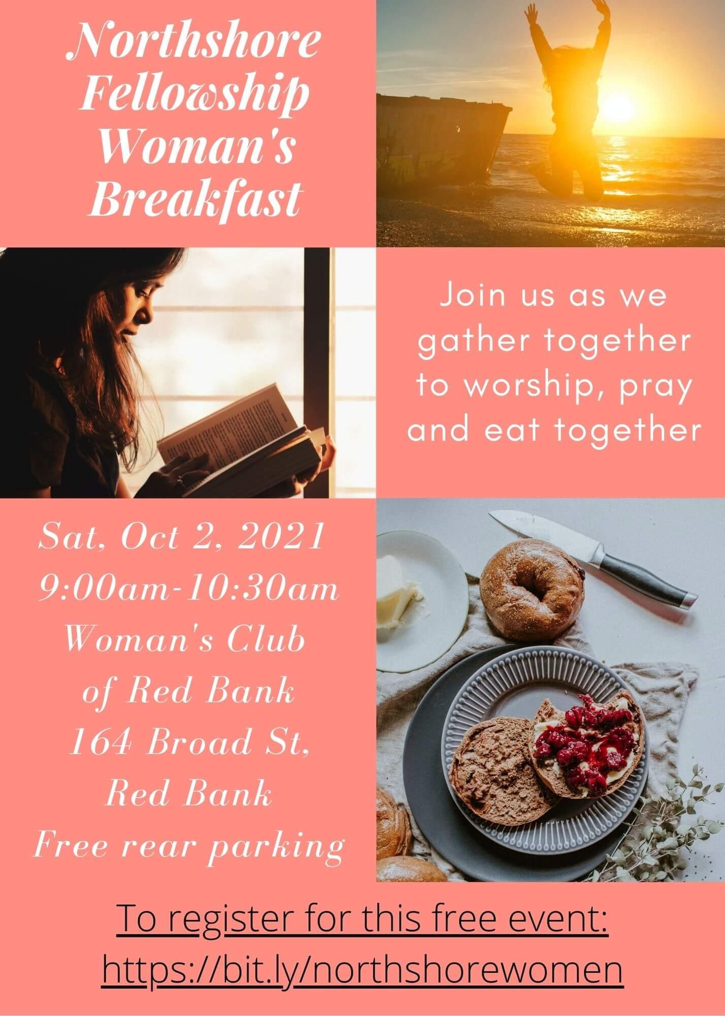 Northshore Fellowship Woman's Breakfast October 2, 2021