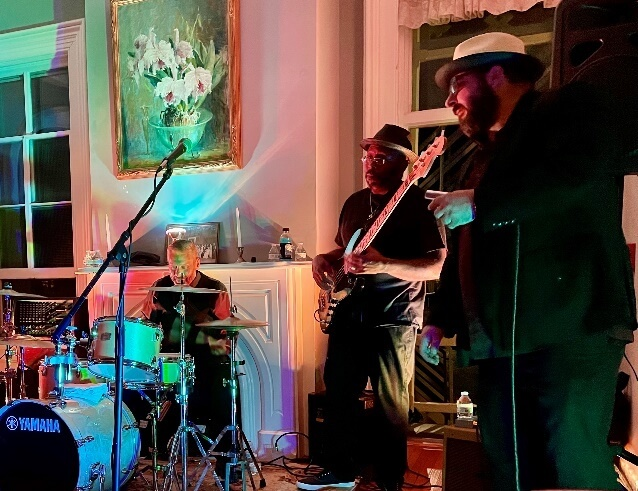 Reckless Steamy Nights with Peter Veteska and Blues Train