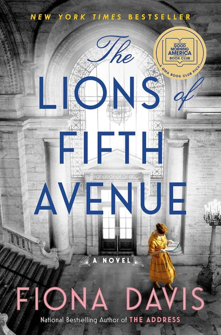 Book Club Reading The Lions of Fifth Avenue